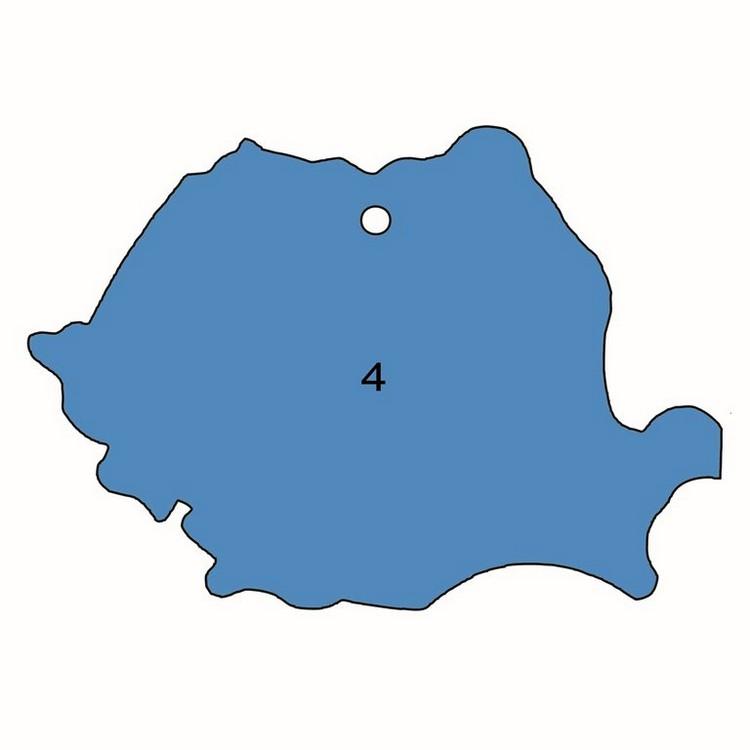 Stante odorizante auto - Harta Romaniei